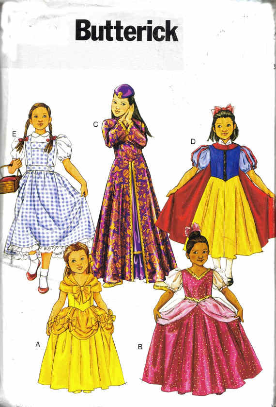 disney princess costume sewing pattern