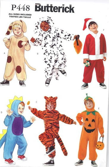 animal santa pumpkin costume sewing pattern