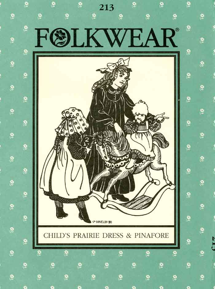folkwear costume prairie dress sewing pattern