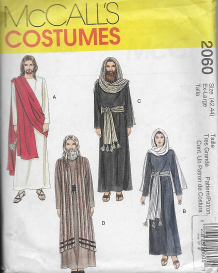 passion play jesus mary pharisee soldier costume sewing pattern