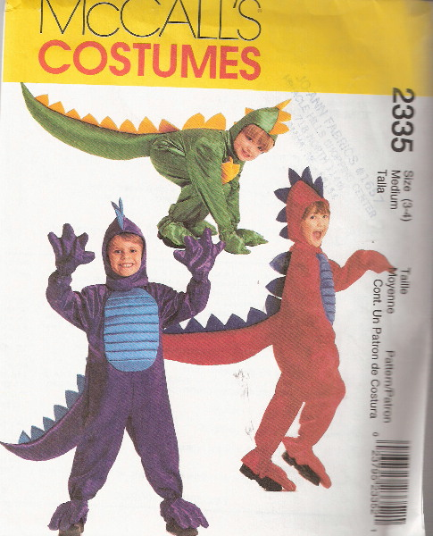 dragon costume sewing pattern