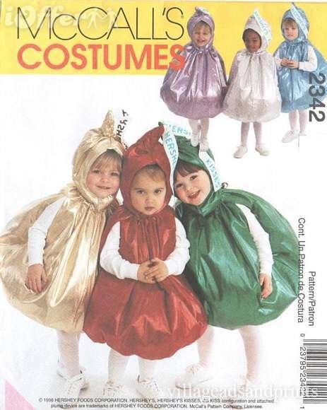 candy costume sewing pattern