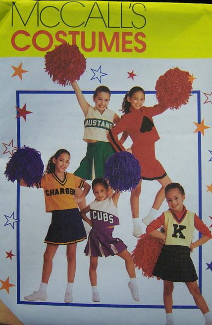 cheerleader costume sewing pattern
