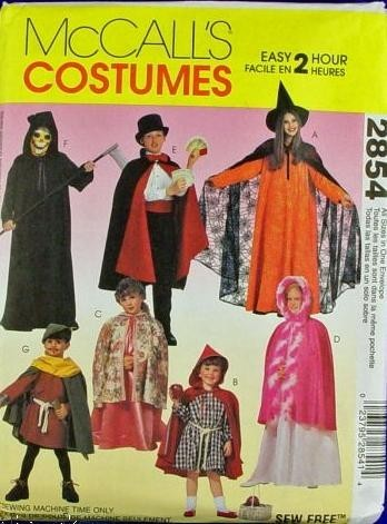 princess wizard costume sewing pattern