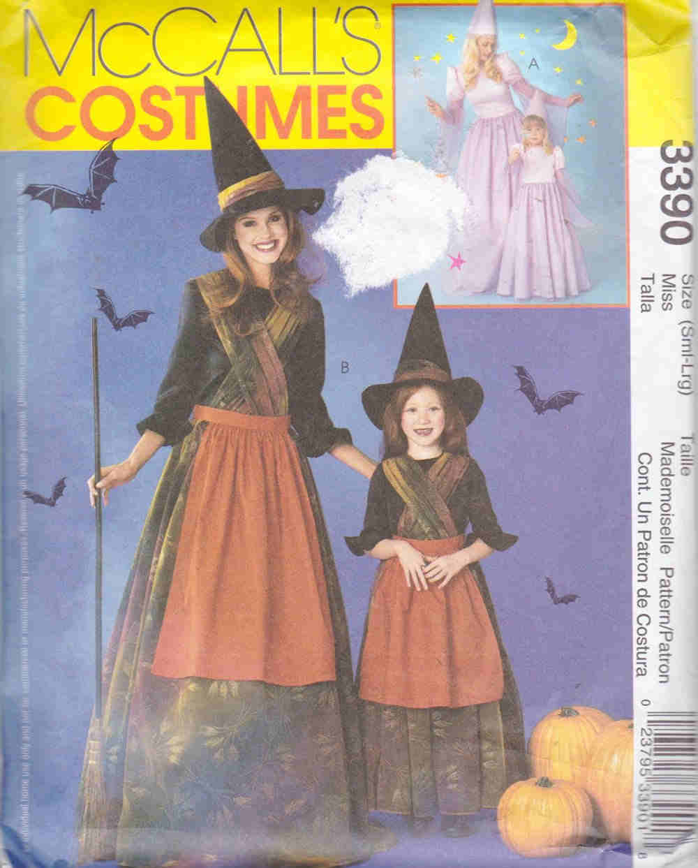 princess witch costume sewing pattern