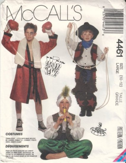 cowboy pirate costume sewing pattern