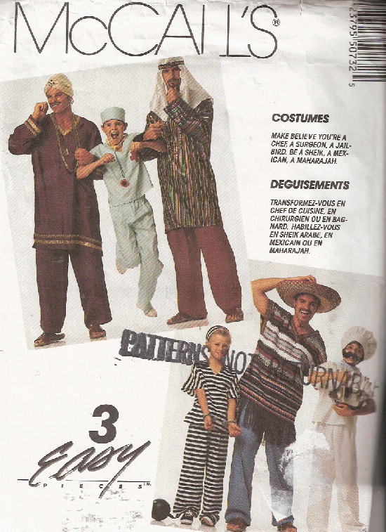 doctor jailbird costume sewing pattern