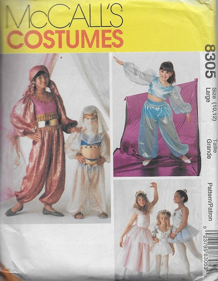 princess fairy ballerina fortune teller costume sewing pattern