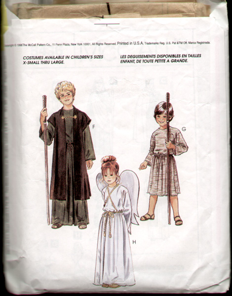 DellaJane Costume Sewing Patterns for Christmas, Passion Play, Choir ...