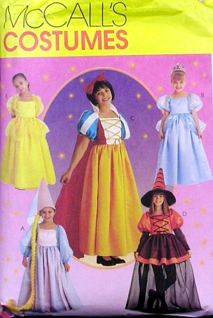 princess costume sewing pattern