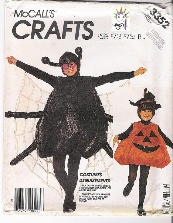 spider costume sewing pattern