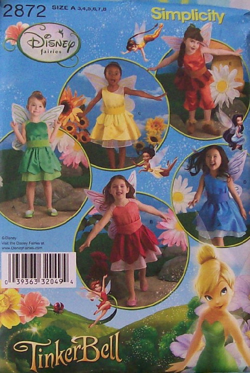 disney fairy costume sewing pattern