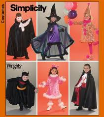 witch vampire costume sewing pattern