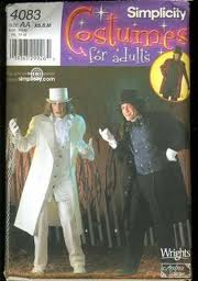 willy wonka costume sewing pattern