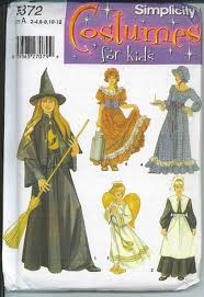 pilgrim witch costume sewing pattern