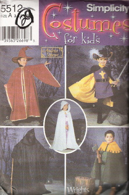 wizard witch costume sewing pattern