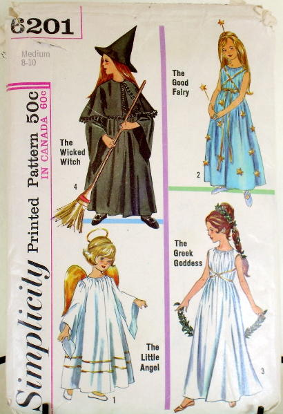 angel princess fairy costume sewing pattern