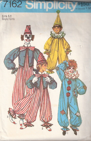 clown costume sewing pattern