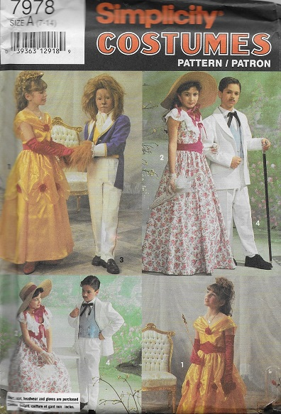 beauty beast southern costume sewing pattern