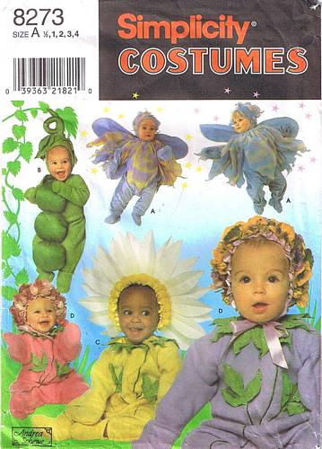 flower bug costume sewing pattern
