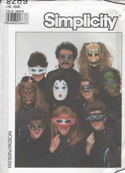 masks sewing pattern