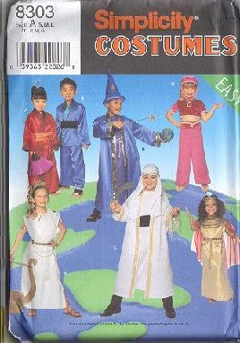 genie harem girl costume sewing pattern