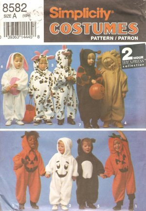 animal bug pumpkin costume sewing pattern