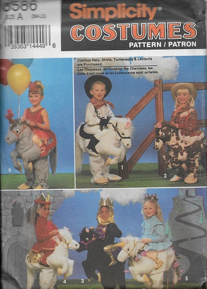 hobby horse unicorn costume sewing pattern