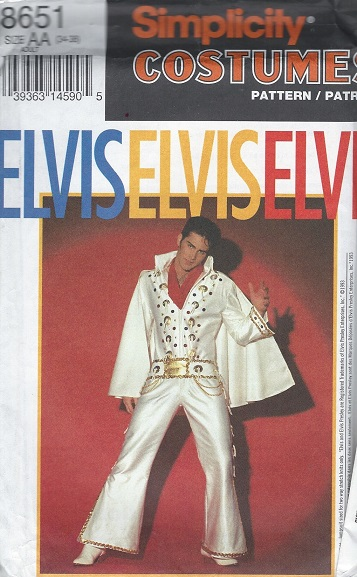 elvis costume sewing pattern