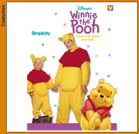 winnie pooh costume sewing pattern