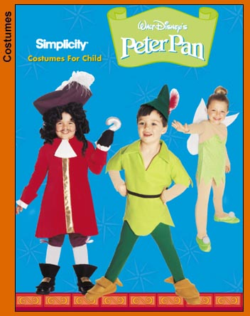 peter pan costume sewing pattern
