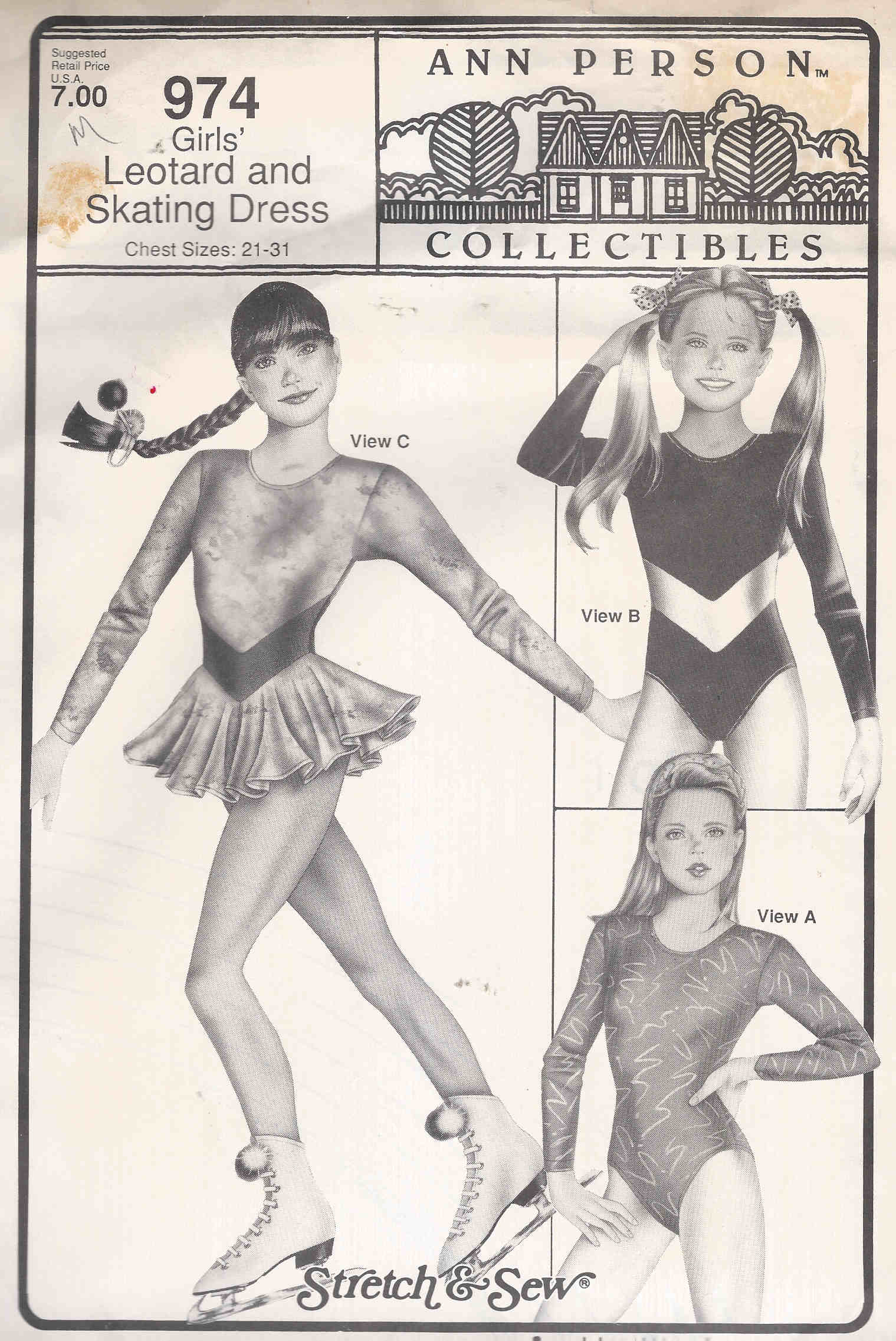 costume sewing pattern