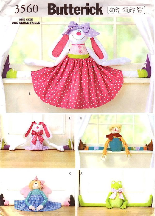 draft stopper doll sewing Pattern