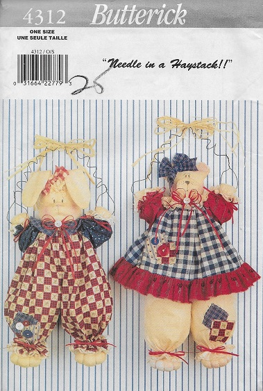 bunny bear sewing pattern