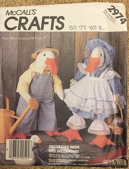 geese sewing pattern