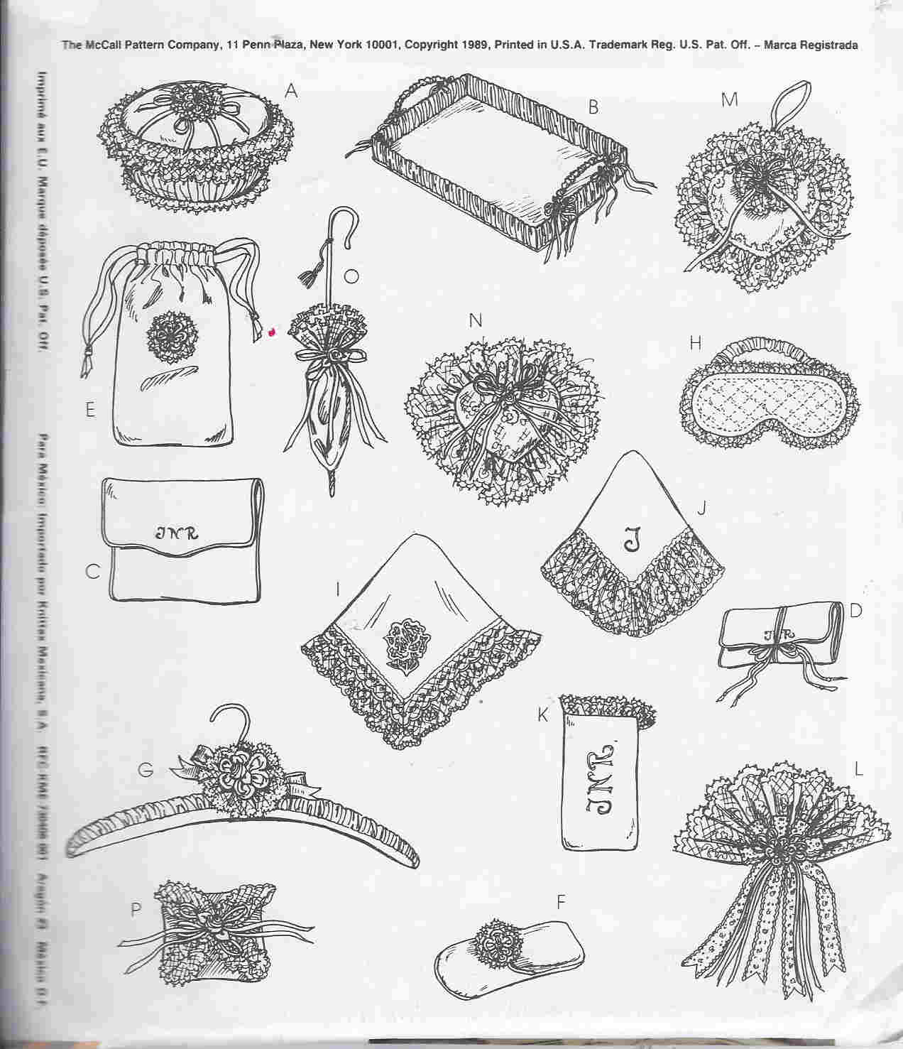 victorian fancies sewing pattern