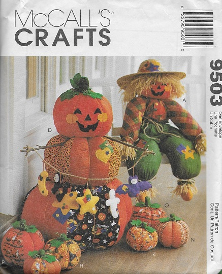 halloween scarecrow witch sewing pattern