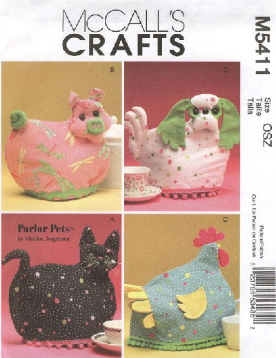 tea cozies sewing pattern