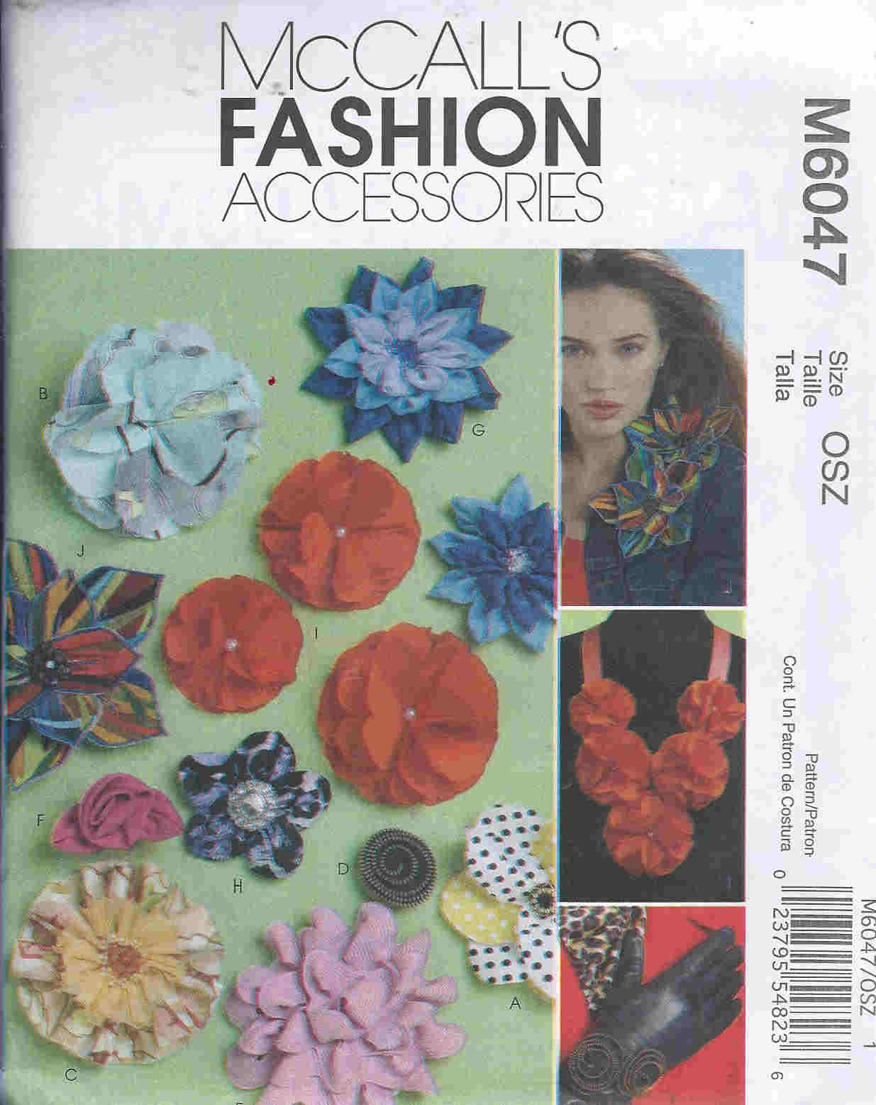 fabric flowers sewing pattern