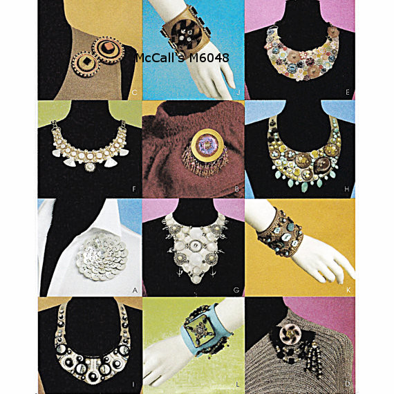 necklace braclet pin sewing pattern