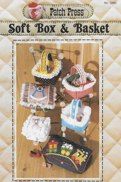 fabric Box Basket sewing pattern