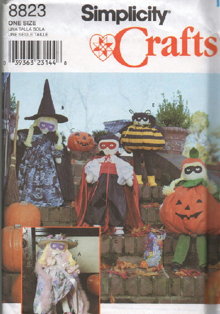 halloween doll sewing pattern