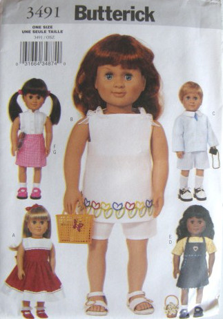 American Girl Doll Clothes Patterns - Free Sewing Patterns