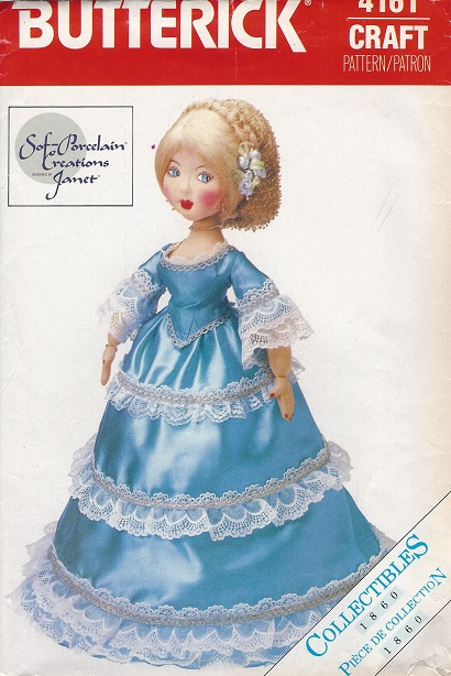 porcelain Doll sewing pattern