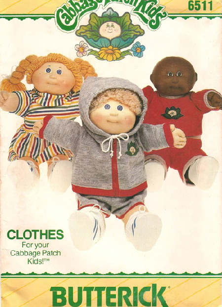 Cabbage Patch Kids sewing pattern