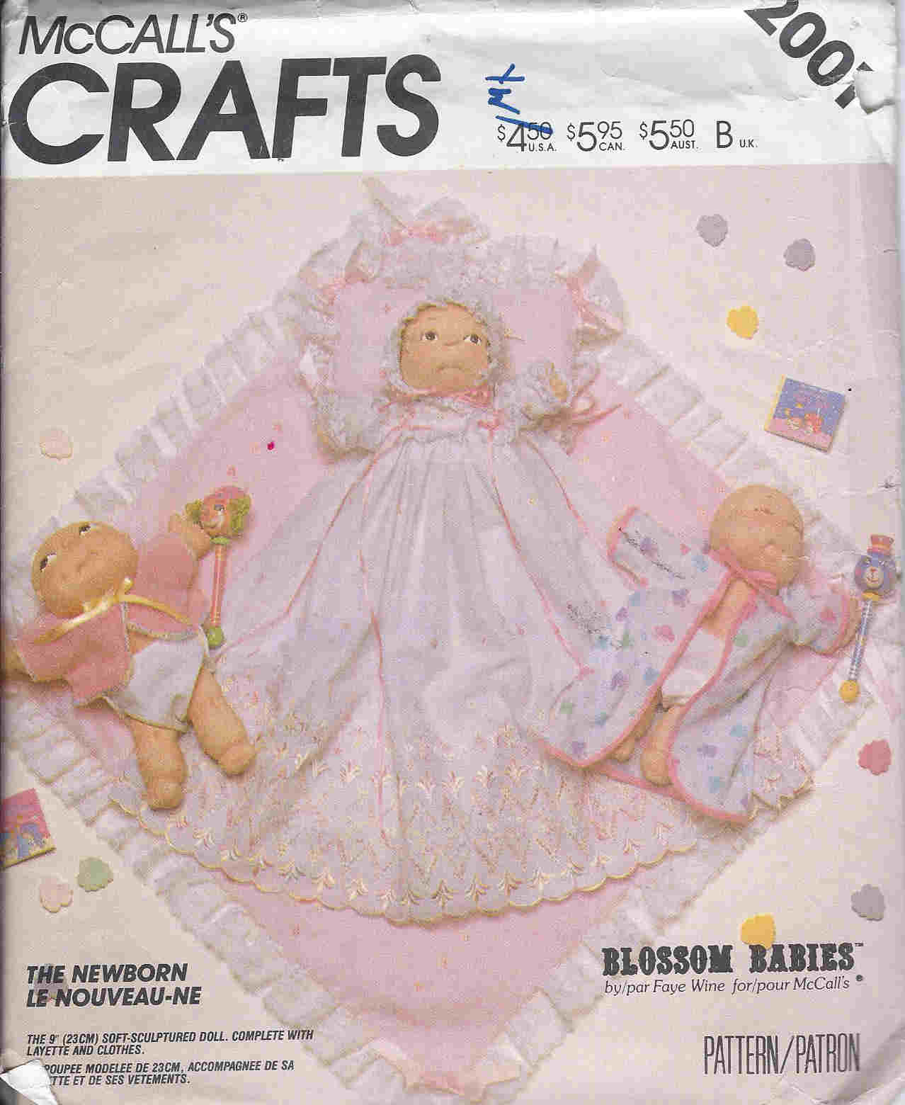 Blossom Babies sewing pattern