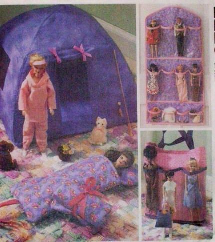 barbie fashion doll sewing pattern