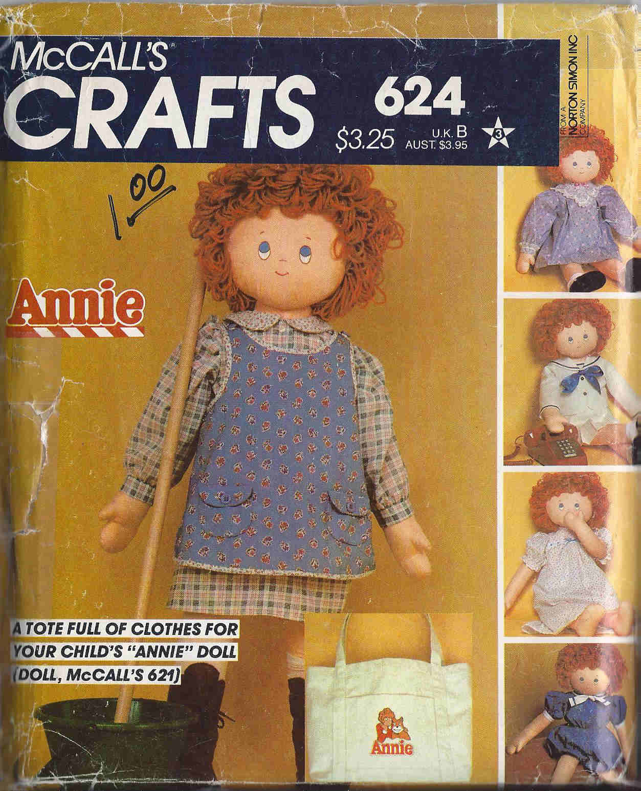 annie doll sewing pattern
