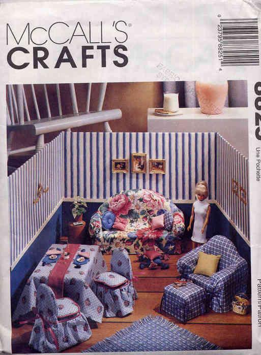 fashion doll furniture sewing pattern
