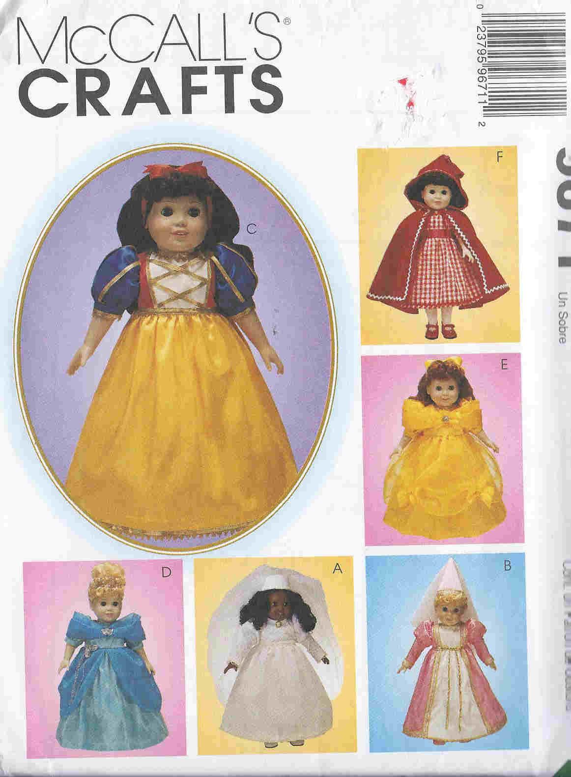 Princess Costumes sewing pattern